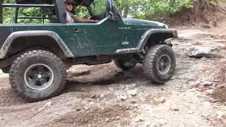 Jeep TJ Wheelie