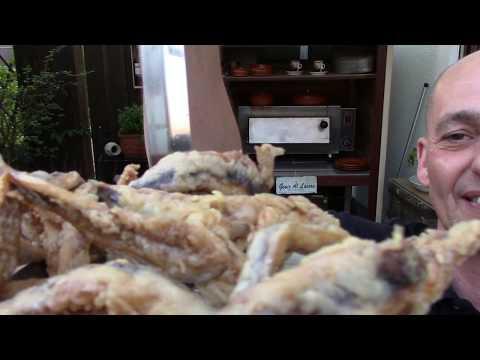 frittierte Sardinen mit Aioli