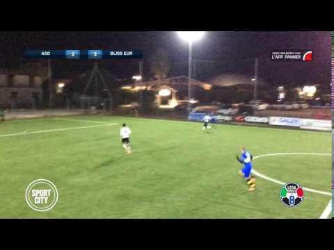 Atletico Asl 2-3 Bliss Eur | Serie B Sport City - 8ª | Top Parata - Urbini (BLE)
