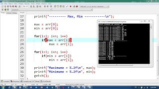 46. Array Exercise, Using Array Part 5 with loop   Khmer Computer Knowledge