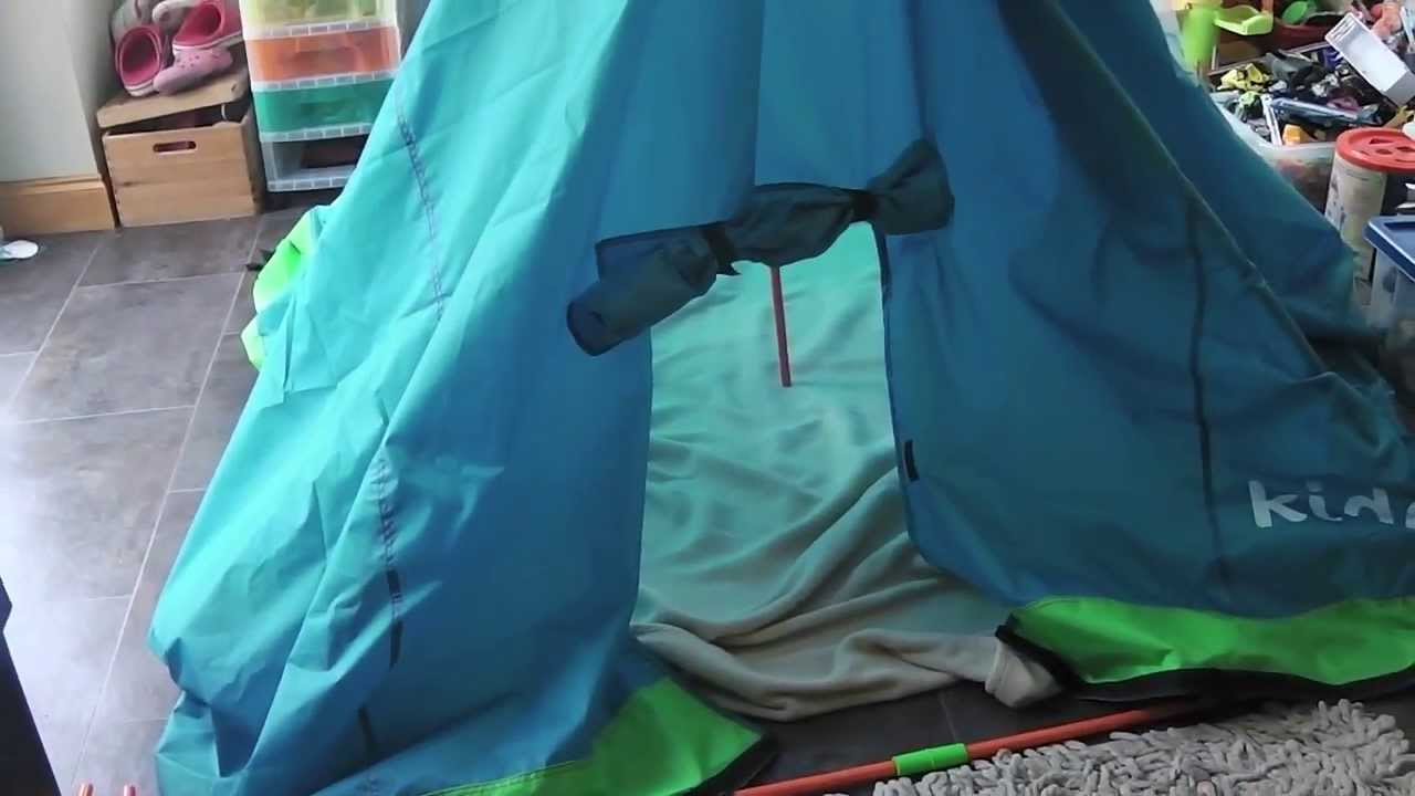 kidc&z Play Tent / Den Kit Review & kidcampz Play Tent / Den Kit Review - YouTube