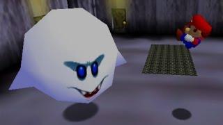 Super Mario 64 Walkthrough - Part 5 - Big Boo's Haunt