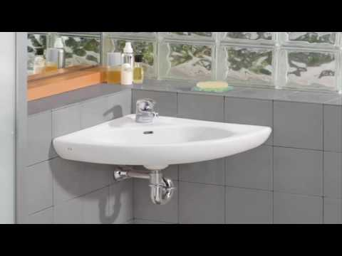 Small Bathroom Corner Sinks