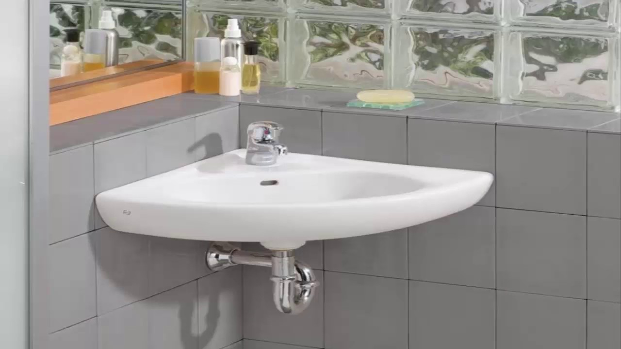 Bathroom Corner Sink - Bathroom Design Ideas