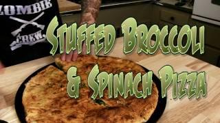 Pizza Stuffed Broccoli & Spinach  The Vegan Zombie