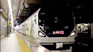 E257系は東海道本線へ!特急「あずさ2号」 新宿駅発車 / JR東日本