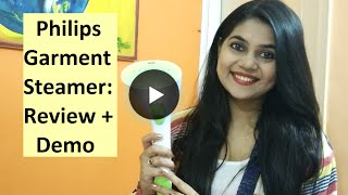 Philips Garment Steamer: Review + Demo II Clothes and Creativity
