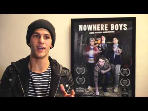Nowhere Boys: The Book Of Shadows - Sam Skateboarding - Behind The Scenes