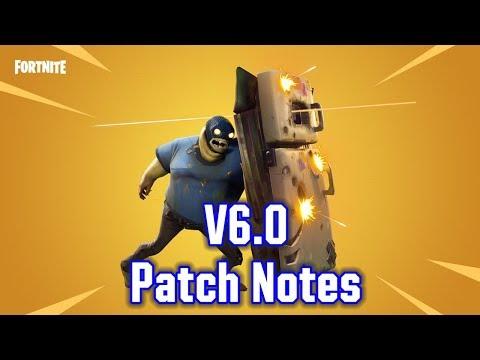 Fortnite V6.0 Patch Notes