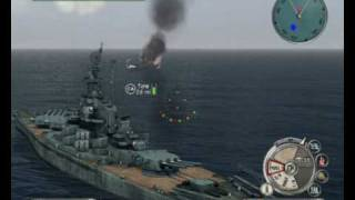 Battlestations Pacific pc gameplay Naval Battle