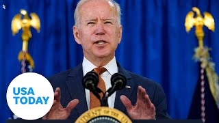 President Biden delivers remarks on COVID-19 vaccination efforts | USA TODAY