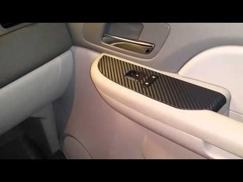 2008 Chevy Tahoe Dash Trim Carbon Fiber 3M Vinyl
