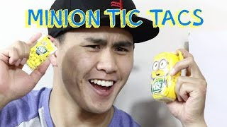 Minion Tic Tacs - Bananna Flavour!