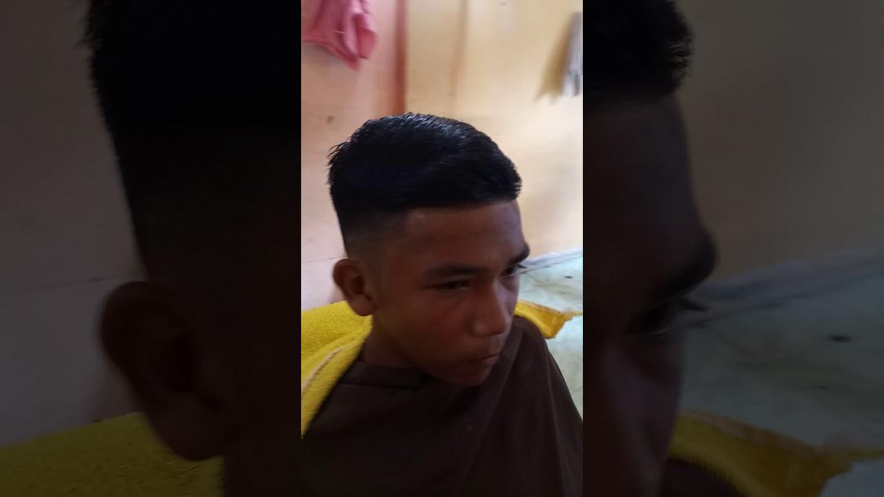 Potong rambut gaya fadehair - YouTube