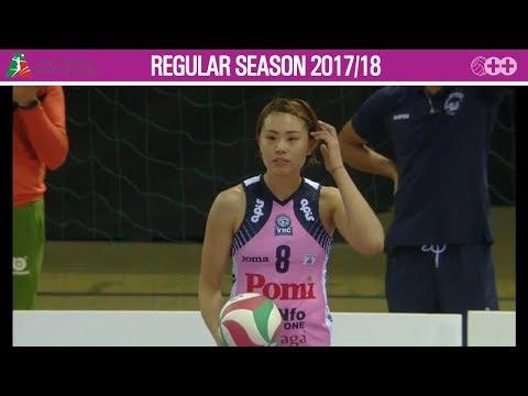 Zeng Chunlei 曾春蕾 China - 2017 Italian volleyball league Scandicci vs Casalmaggiore
