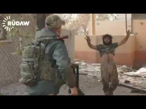 Sağ yakalanan IŞİD'li: Beni öldürmeyin