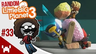 TRAIN BOMB SURVIVAL + CARLOS! - Little Big Planet 3: Random Multiplayer - Ep. 33