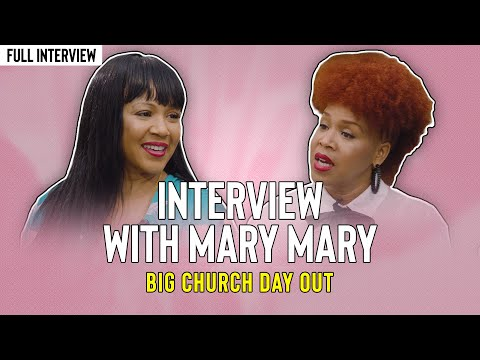 Interview With Mary Mary @ Big Church Day Out 2017 in 4K