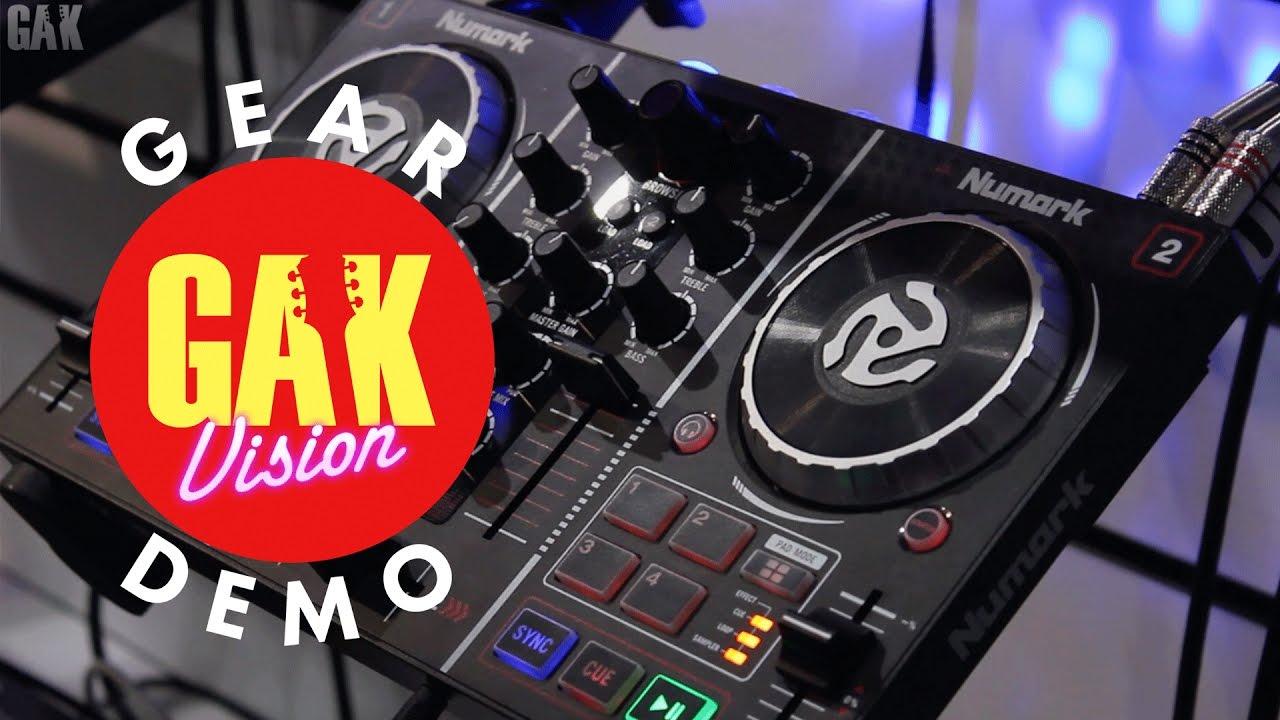 GAK PRO AUDIO : Numark Party Mix DJ Controller