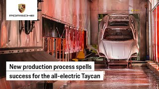 Innovation Sparks Improved Production for the Taycan