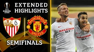 Sevilla vs. Manchester United | <b>Europa League</b> Semifinal Highlights ...