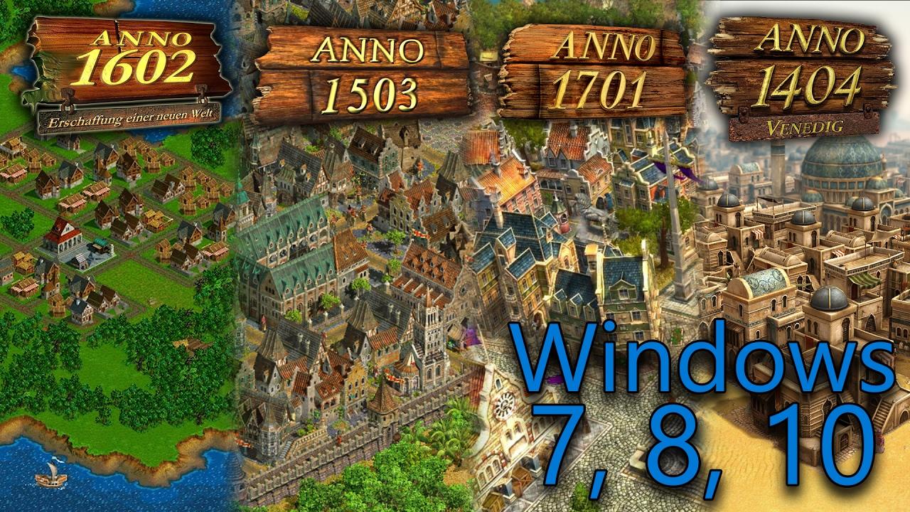anno 1602 windows 7