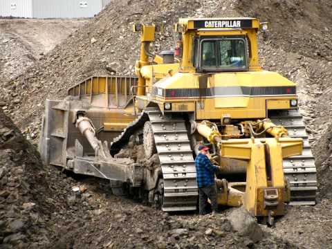 e442f66db Caterpillar D11 Dozer - YouTube