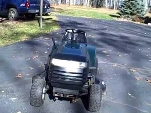Craftsman lawn tractor manual