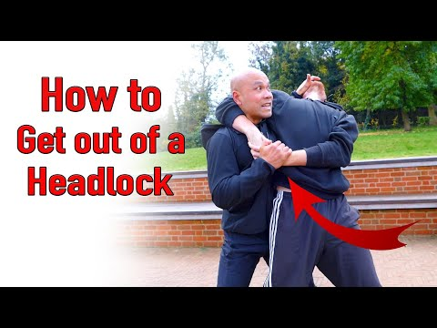 How to get out of a Headlock - Wing Chun
