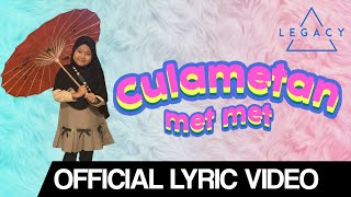 Risa Culametan - Culametan Met Met (Official Lyric Video) | #Culametanmetmet