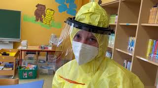 Grundschüler in Cochem werden auf Coronavirus getestet