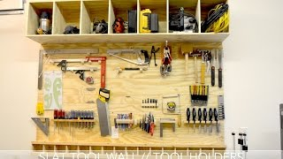 Slat Tool Wall // Tool Holders (John Heisz Design)
