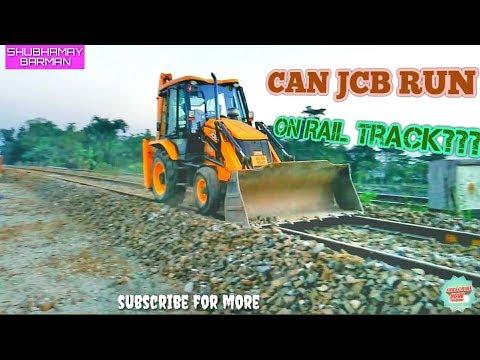 JCB rolling on Rail Track