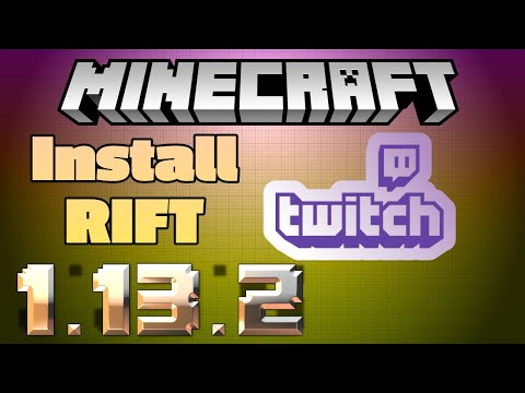 Install Rift In The Twitch Launcher For Minecraft - Experimental