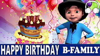 Happy Birthday | [B-Family] Muffin Songs