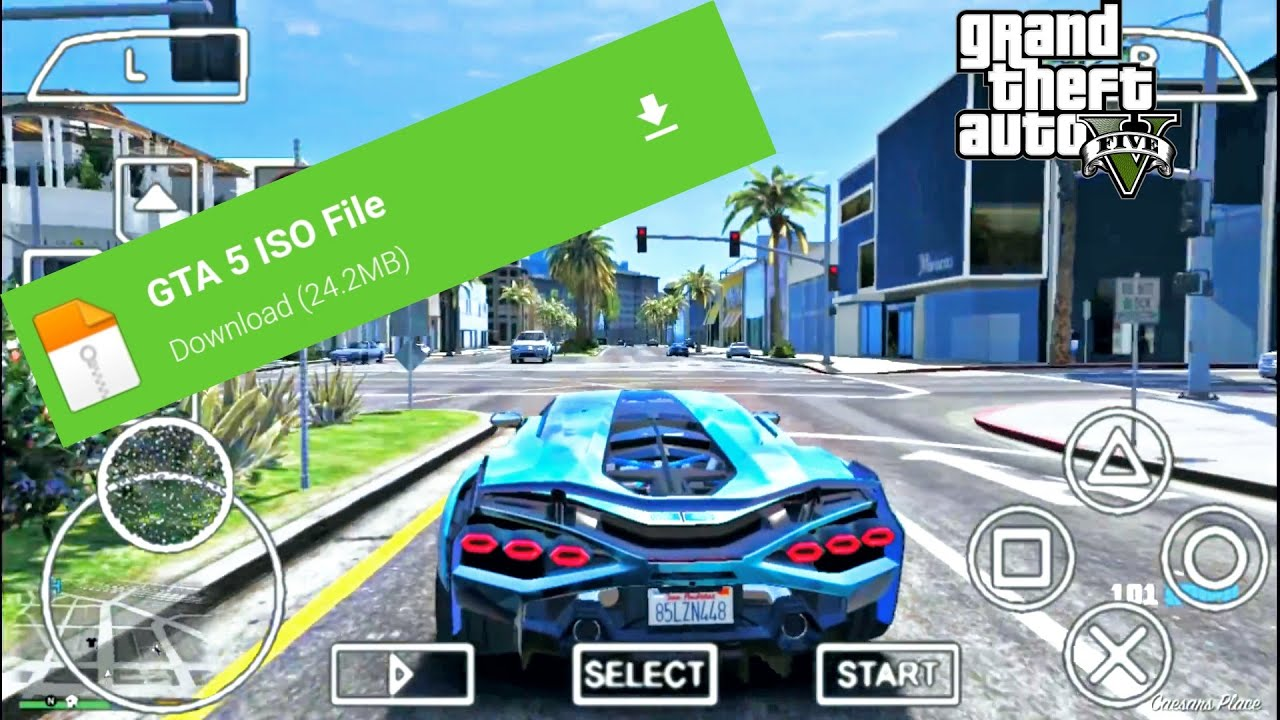 Gta 5 ppsspp android download iso