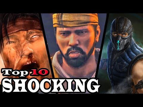 Top 10 Most Shocking Moments in Mortal Kombat thumbnail