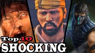 Top 10 Most Shocking Moments in Mortal Kombat