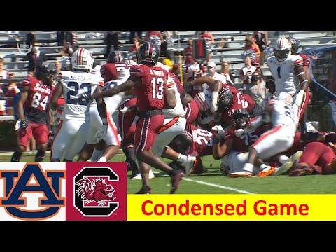 Auburn vs South Carolina Condensed Football Game 10 17 2020