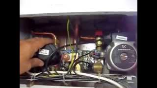 ремонт 2контурного котла electrolux