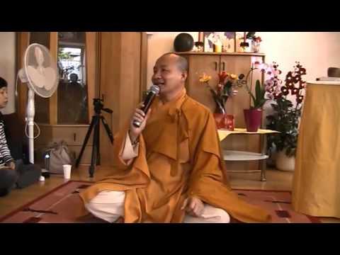 Đại Đức Thích Trí Huệ - Hướng Dẩn Khai Chuông Mõ - Ngồi Thiền 2/2