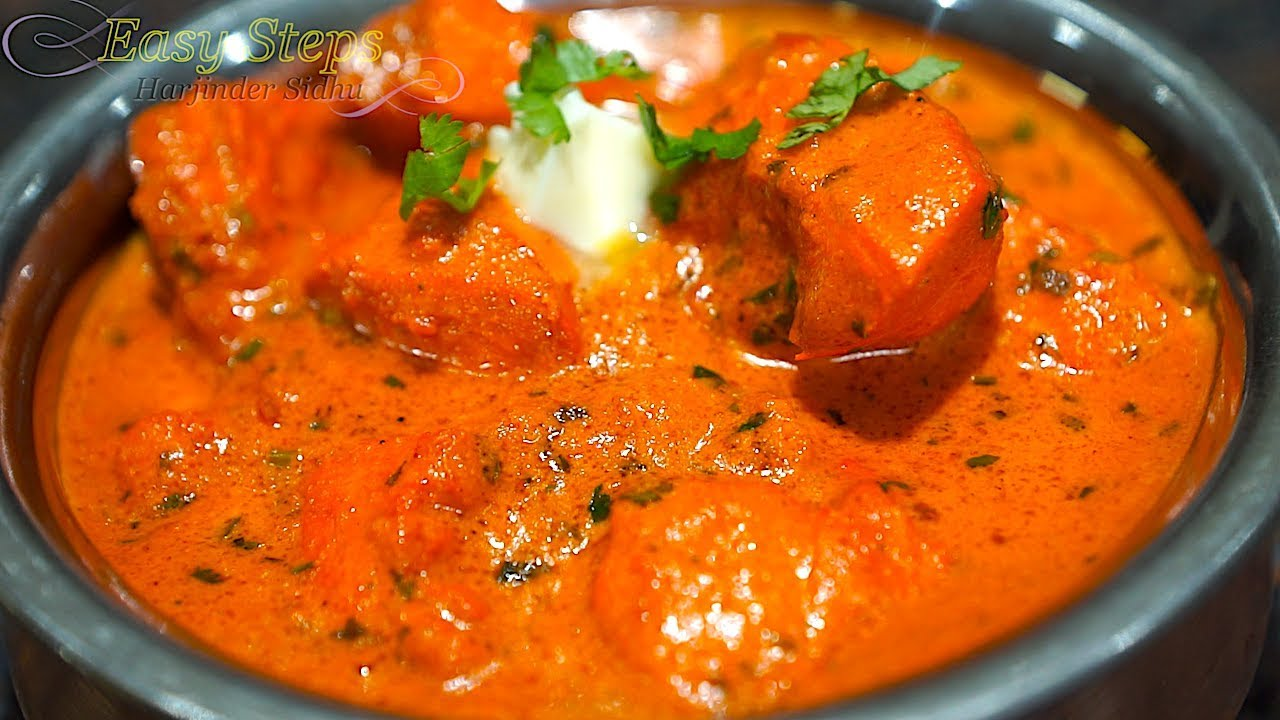 Indian Butter Chicken Recipe   Step by Step Tutorial ...