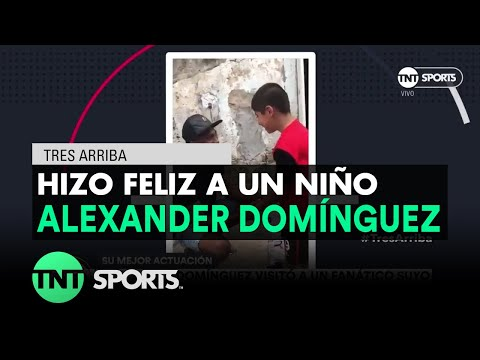 El hermoso gesto de Alexander Domínguez