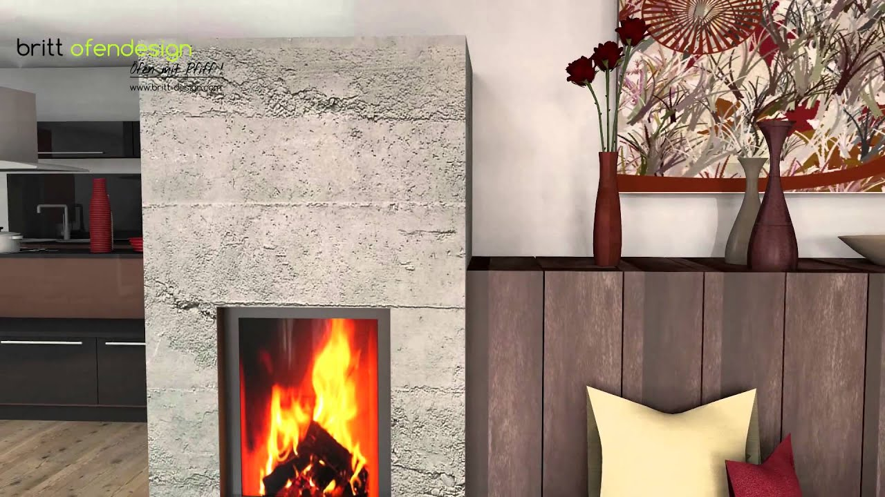 033 britt ofendesign fireplacedesign kachelofen modern tiled stove contemporary youtube. Black Bedroom Furniture Sets. Home Design Ideas