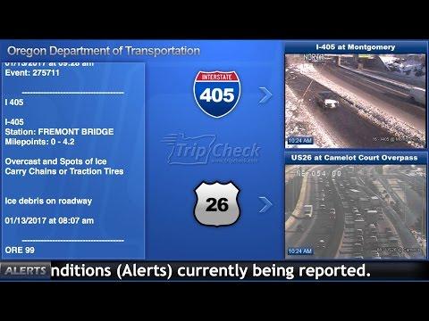 Live Portland-area traffic cameras courtesy of...