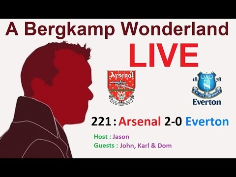#ABWLive : 221 - Arsenal 2-0 Everton (Premier League)