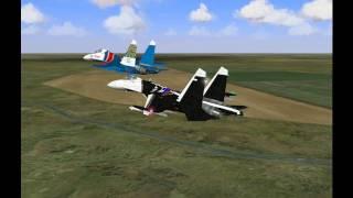 Групповой пилотаж для начинающих вирпилов (урок 2)