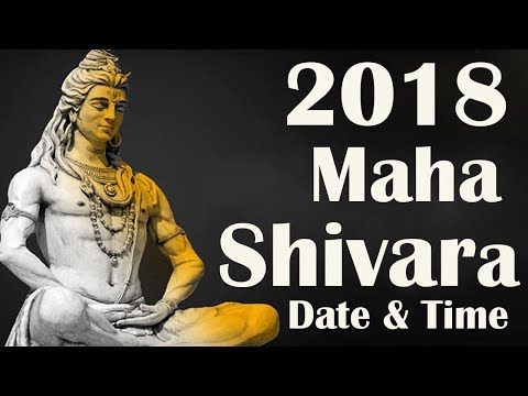 2018 Maha Shivaratri Date Time for India, Shiv Ratri Puja Schedule Update Puja News 2018