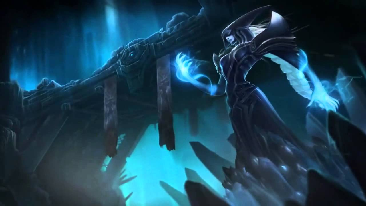 Lissandra League Of Legends Login Screen With Music (With ...
