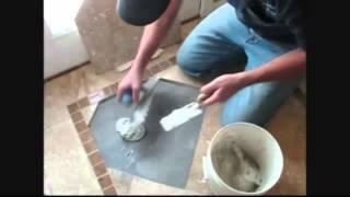 4 - Oprava keramickej dlažby
